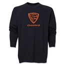 Jaguares Distressed Crewneck Fleece (Black)