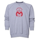 Monarcas Distressed Crewneck Fleece (Gray)