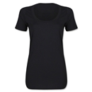 Women's Scoopneck T-Shirt (Black)