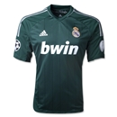 Real Madrid 12/13 Third Soccer Jersey