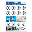Soccer Love Sticker Sheet