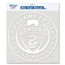 Philadelphia Union 8x8 Die Cut Decal