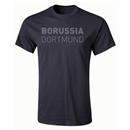 Borussia Dortmund Blackout T-Shirt (Black)