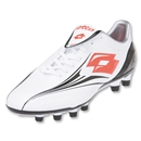 Lotto Zhero Evolution Tre Soccer Shoes (WHITE/BLACK/RED)
