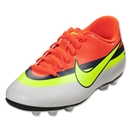 Nike Mercurial Vortex CR FG-R Junior (White/Volt/Loyal Blue)