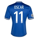 Chelsea 13/14 11 OSCAR Home UCL Soccer Jersey