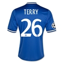 Chelsea 13/14 26 TERRY Home UCL Home Soccer Jersey