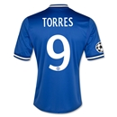 Chelsea 13/14  9 TORRES Home UCL Soccer Jersey