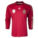 Spain 2014 Home LS Soccer Jersey