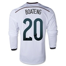 Germany 2014 BOATENG LS Home Soccer Jersey