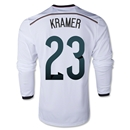 Germany 2014 KRAMER LS Home Soccer Jersey