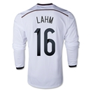 Germany 2014 LAHM LS Home Soccer Jersey
