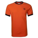 Umbro Ringer SOCCER T-Shirt (Orange)