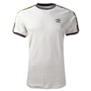 Umbro Ringer T-Shirt (White/Lime)