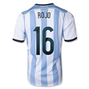 Argentina 2014 ROJO Home Soccer Jersey