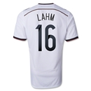 Germany 2014 LAHM Authentic Home Soccer Jersey