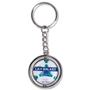 LA Galaxy Spinner Key Ring