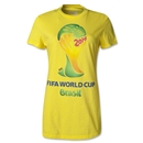 adidas 2014 FIFA World Cup Brazil(TM) Women's T-Shirt