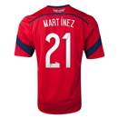 Colombia 2014 MARTINEZ Away Soccer Jersey