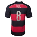 Germany 2014 OZIL Away Soccer Jersey