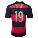 Germany 2014 GOTZE Away Soccer Jersey