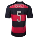 Germany 2014 HUMMELS Away Soccer Jersey