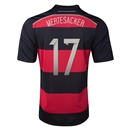 Germany 2014 MERTESACKER Away Soccer Jersey