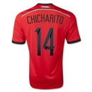 Mexico 2014 CHICHARITO Away Soccer Jersey