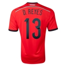 Mexico 2014 D REYES Away Soccer Jersey