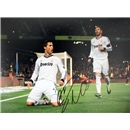 Icons Cristiano Ronaldo Signed Real Madrid Photo Copa Del Rey 2013 Goal vs Barcelona