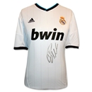 Icons Cristiano Ronaldo Signed Real Madrid 12/13 Shirt