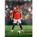 Icons Cristiano Ronaldo Signed Portugal Freekick Photo