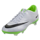 Nike Mercurial Vapor IX FG (White/Black/Electric Green)