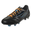 adidas F50 adizero TRX FG miCoach compatible Leather (Black/Black/Solar Blue)