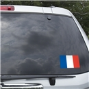 France Flag Graphic Window Cling