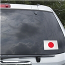 Japan Flag Graphic Window Cling