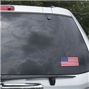 USA Flag Graphic Window Cling