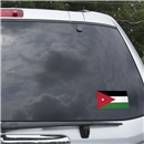 Jordan Flag Graphic Window Cling