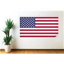 USA Flag Wall Decal