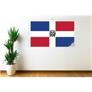 Dominican Republic Flag Wall Decal