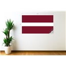 Latvia Flag Wall Decal