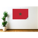 Morocco Flag Wall Decal
