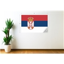 Serbia Flag Wall Decal