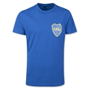 Boca Juniors Crest Logo Blue T-Shirt