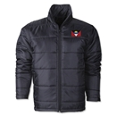 Antigua & Barbuda Flag Polyfill Puffer Jacket
