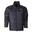 Cambodia Flag Polyfill Puffer Jacket