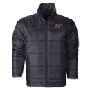 Namibia Flag Polyfill Puffer Jacket