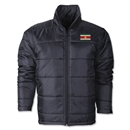 Suriname Flag Polyfill Puffer Jacket