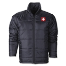 Switzerland Flag Polyfill Puffer Jacket