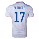 USA 2014 ALTIDORE Authentic Home Soccer Jersey